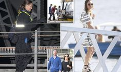 The newlyweds, who tied the knot on May 20, were spotted scaling the Sydney Harbour Bridge after spending the day criss-crossing the city as they kicked off the second leg of their honeymoon.