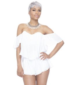 TAKE IT EASY FLOWY SHORT SET available at FLYJANE
