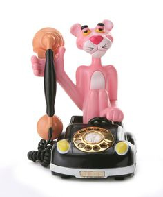 "Vintage Pink Panther Telephone...""We need to talk about an organic, safe and pure Skin Care"" Apriori Beauty.  Let's discuss you joining my TEAM and starting your own home based business! Give me a ring you'll be glad that you did! (609) 404-7908 http://aprioribeauty.com/IC/KathysDaySpa  https://www.facebook.com/AprioriBeautyKathysDaySpa"