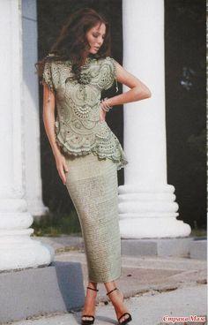 Irish crochet &: Костюм Олеси Данилюк  ----  tolles Kostüm mit vielen Fotos und Grafik ... (Y)
