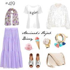 Aminah´s Hijab Diary #hijab #hijabfashion #modest #fashion #look #style #outfit #muslimah #germany #hm #summer Modest Dresses, Modest Outfits, Cool Outfits, Modest Clothing, Muslim Fashion, Modest Fashion, Hijab Fashion, Women's Fashion, Hijab Dress