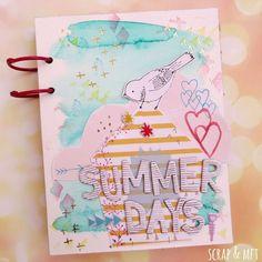 Mini álbum Summer Days | SCRAP & my favourite things | Bloglovin'