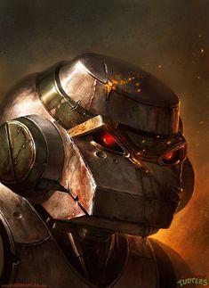 Metalhead – TMNT by Dave Rapoza.