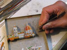 Fratelli Traversari - Micromosaic & Florentine Mosaic (Good information on Micro Mosaic technique)