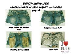 Shorts denim!!