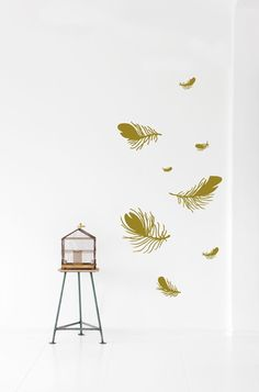 Feather - Gold - Ferm Living - $59.95