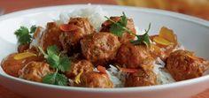 Indiska köttbullar Mat, Santa Maria, Dessert, Ethnic Recipes, Food, Deserts, Essen, Postres, Meals