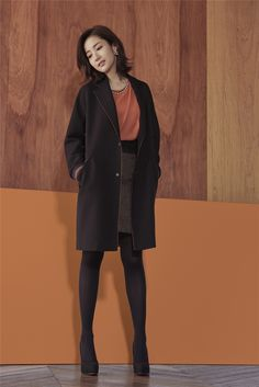 COMPAGNA Fall 2015 Ads Feat. Park Min Young | Couch Kimchi