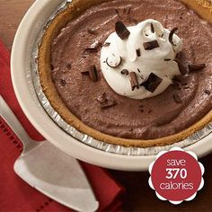 Choose a Homemade Chocolate Pudding Pie Over the Original