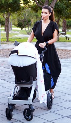 It's no secret Kourtney Kadashian loves Orbit Baby, but now little sister Kim is also a fan of the versatile stroller. On the recent episode of Keeping Up With the Kardashians, we see Scott Disick helping Kim assemble her own Orbit Baby Stroller.