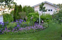 Kanelia ja kardemummaa: Vastauksia kysymyksiinne House Flags, West Village, Glass Jars, Garden Design, New Homes, Home And Garden, Yard, Life, Garden Ideas