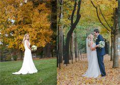 Bridal Portrait Idea | Graylyn Estate, Elegant Fall Wedding | Logan Jarrard Photography | Leigh Pearce Weddings, Winston Salem North Carolina Wedding Planner