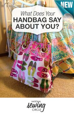 What does your handbag say about you? Learn how to wear your handbag the way you can take your style from simple to a statement! http://www.nationalsewingcircle.com/what-does-your-handbag-say-about-you/?utm_source=pinterest&utm_medium=organic&utm_campaign=A230 #NSC #learnmoresewmore #LetsSew