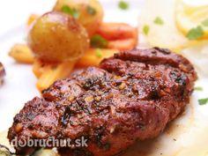 Marinované bravčové mäsko