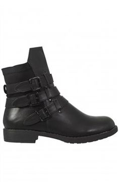 ANTIbrand Faux Leather Ankle Boots