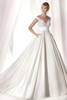 Courtesy of Nicole Spose wedding dresses; www.nicolespose.it/en