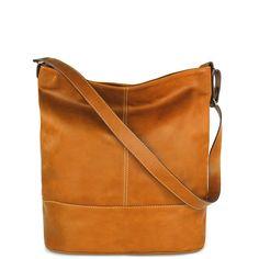 """Kožená kabelka Mirka """"Bledohnedá"""" Mirka je športovo-ležérna kabelka, ktorá sa výborne hodí na každodenné nosenie do práce, školy či na nákupy. Kabelka je z pravej kože v bledohnedej farbe. Na zadnej strane je vrecko na zips. Má jeden držiak, ktorý sa dá dĺžkovo nadstaviť. Môže sa nosiť na ramene alebo ako crossbody. Kovanie je v striebornej farbe. Vo vnútri je jedno ..."""