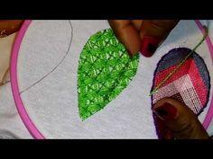 05 ♥ Puntos de bordado ♥ Hoja N°5 ♥ - YouTube