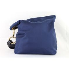 Pre-Owned Jpk Navy Handbag Purse Hobo ($63) ❤ liked on Polyvore featuring bags, handbags, shoulder bags, blue, blue handbags, navy blue purse, navy blue handbags, shoulder handbags and handbags shoulder bags