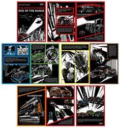 MINI Comic on adsoftheworld by Lilian Illustration #cars #mini #art #illustration #lifestyle