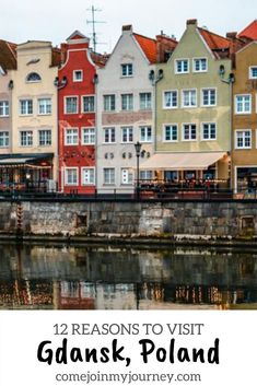 This guide showcases all the wonderful reasons to Visit Gdansk, a stunning port city in Poland! | Poland travel | Things to do in Poland | Things to do in Gdansk | Europe Travel