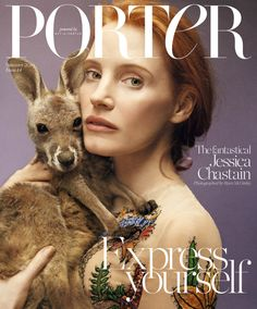 Jessica Chastain by Ryan McGinley for Porter Magazine Summer 2016