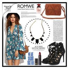 """Romwe 6."" by b-necka ❤ liked on Polyvore featuring Lipstick Queen, Dolce&Gabbana and romwe"