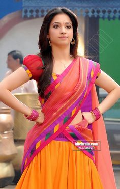 Half Saree magic