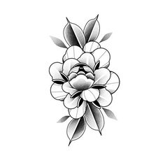 Flower Tattoo Designs, Flower Tattoos, Tattoo Floral, New Tattoos, I Tattoo, Tattoo Flash, Plant Tattoo, Japanese Flowers, Ink Art