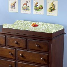 I don't ever plan on owning a changing table, so this is great.