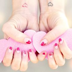 We're head-over-heels for these sweet, pretty Valentine's nails from our favorite brands and bloggers