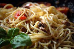 Kuchnia Bazylii: Makaron z sardynkami