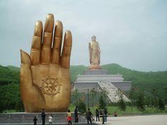 Soul Mountain (灵山) in Wuxi, Jiangsu province