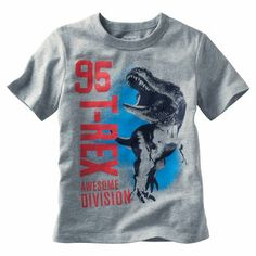 OshKosh Originals Graphic Tee. Roar! He's a part of an awesome team in this fun dinosaur graphic tee.