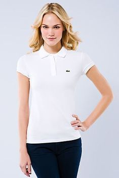 319bd3ca Polo Shirt White, Pique Polo Shirt, Cheap Polo Shirts, Polo Ralph Lauren  Outlet, Lacoste, Stretches, Popsicles