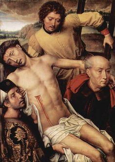 Hans Memling: Descendimiento de la Cruz- Capilla Real de Granada -