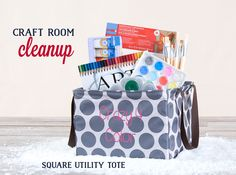Thirty-One Gifts - Square Utility Tote. GET YOURS FOR $7!!!! www.mythirtyone.com/MissyGN
