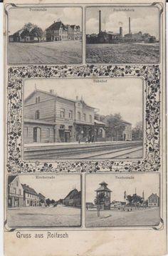 AK ROITZSCH 1909 bei Sandersdorf Bitterfeld  Wolfen Delitzsch Brehna