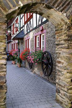 Bacharach, Germany (painters' corner)