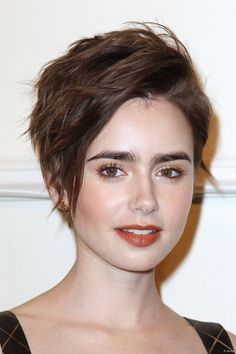 Lily Collins at the Chanel Paris-Salzburg 2014/15 Metiers d'Art Show in New York City, March 31, 2015