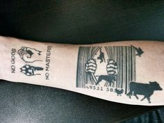 Animal liberation i 39 m thinking this would make a great for Vegan tattoo 269