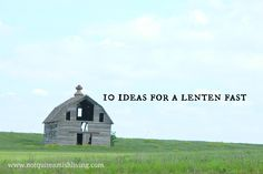 """Lent is a time to repent—to """"turn around and walk the other way,"""" which is what repent means. Christians have many ways to choose to help them concentrate their vision."""