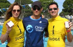 Actor breaks Australian Dynamic No Fins National Record freediving competition records  tanc sade news national record dynamic no fins DNF a...
