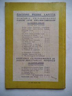 LEBLANC Maurice - 813 - Livre Rare Book