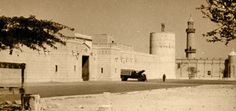 Development, seen from the south-west, on the site of the Diwan al Amiri in 1945