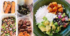 Weekly Meal Prep: Vegetarian Burrito Bowls