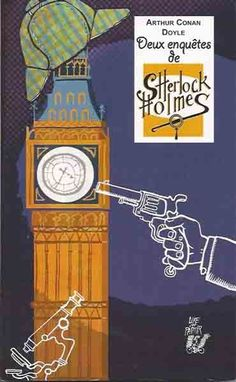 Sherlock Holmes, Arthur Conan Doyle, Cycle 3, Roman, London, Budget, Redhead Men, Police Officer, Wall Stud