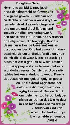 Good Morning Prayer, Morning Prayers, Good Morning Quotes, Prayer Quotes, Me Quotes, Afrikaanse Quotes, Goeie More, Bible Verses, Inspirational Quotes