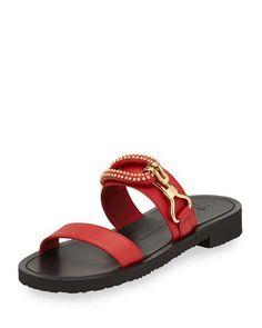 f012e846d Giuseppe Zanotti Mens Gomzak New Hook Slide Sandals