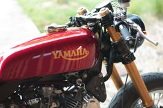 Yamaha XV 750 Virago Cafe Racer by Jean-Pierre #motorcycles #caferacer #motos   caferacerpasion.com